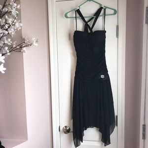 Ruby Rox Black Halter Cocktail & Party Dress